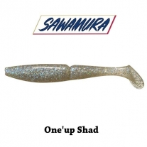 Sawamura One'up shad 5""