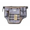 """Сумка рыболовная поясная """"Следопыт"""" Fishing Belt Bag Light, 44х35х6 см, цв. серый"""