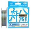 Шнур плетеный YGK veragass pe x4 150m #0.6 12lb