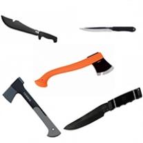 Ножи, мачете, топоры