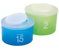Набор коробок Матрешка 2шт- 1,5,2litr  MADE IN ITALY