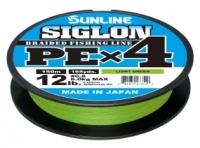 Шнур Sunline Siglon PE х4 150m (салат.) #1/0.171mm