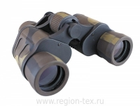 """Бинокль """"СЛЕДОПЫТ"""", 8х40, зеленый-защитный, 165*75*140 мм, 497 гр., в чехле"""