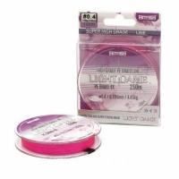 Шнур Hitfish Lite Game 150м 0.4 Pink