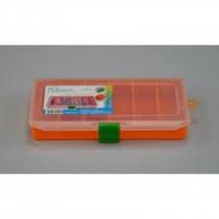 Коробка FB-216 orange (рыболовная, 216x121x34 мм)
