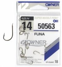 Одинарный крючок OWNER 50563 Funa №10