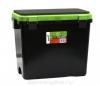 Ящик зимний Helios FishBox 19л, односекционный, зеленый