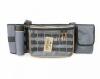 Сумка рыболовная поясная СЛЕДОПЫТ Fishing Belt Bag, 74х22х10 см, цв. серый