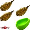 Method Feeder Mikado- Набор кормушек 3 шт. 40 гр. + форма