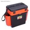 Ящик зимний Helios FishBox 19л, оранжевый