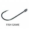 Крючки metsui FISH GAME цвет bln, размер № 4, в уп. 12 шт.