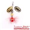 Блесна вращающаяся Lucky John BONNIE BLADE №00 2.7г цвет 001 в блистере