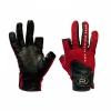 Перчатки спиннингиста Alaskan двухпалые Red/BL р.L