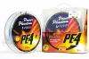 Шнур Power Phantom PE4, 150m, multicolor #0,6(5,9кг), 0.12mm