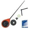 Удочка-балалайка зимняя SALMO Sport 24,3 см красная