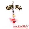 Блесна вращающаяся Lucky John BONNIE BLADE №01 3.5г цвет 001 в блистере