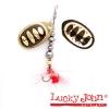 Блесна вращающаяся Lucky John BONNIE BLADE №02 4.3г цвет 001 в блистере