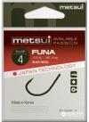 Крючки metsui FUNA цвет bln, размер № 10, в уп. 12 шт.