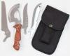Набор туристический СЛЕДОПЫТ, пила, топор, нож, в чехле
