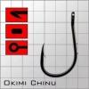 Крючки metsui OKIAMI CHINU цвет bln, размер № 10, в уп. 12 шт.
