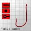 Крючки metsui TOKYO SODE цвет red, размер № 10, в уп. 12 шт.
