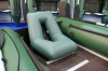 Надувное кресло ПВХ для лодки Колибри