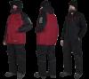 Костюм зимний Alaskan Russian Mission бордовый/черный   XL (куртка+полукомбинезон)