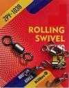 Вертлюг Killer Rolling Swivel ZPY-1039 №6